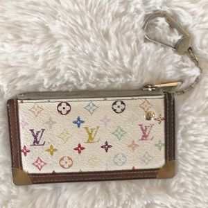 Louis Vuitton | Multicolor Monogram Key Pouch